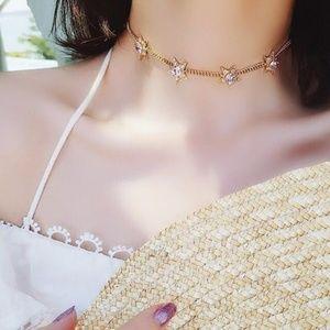 ❤️️NEW MOONLIGHT Star Handmade Choker Necklace 38